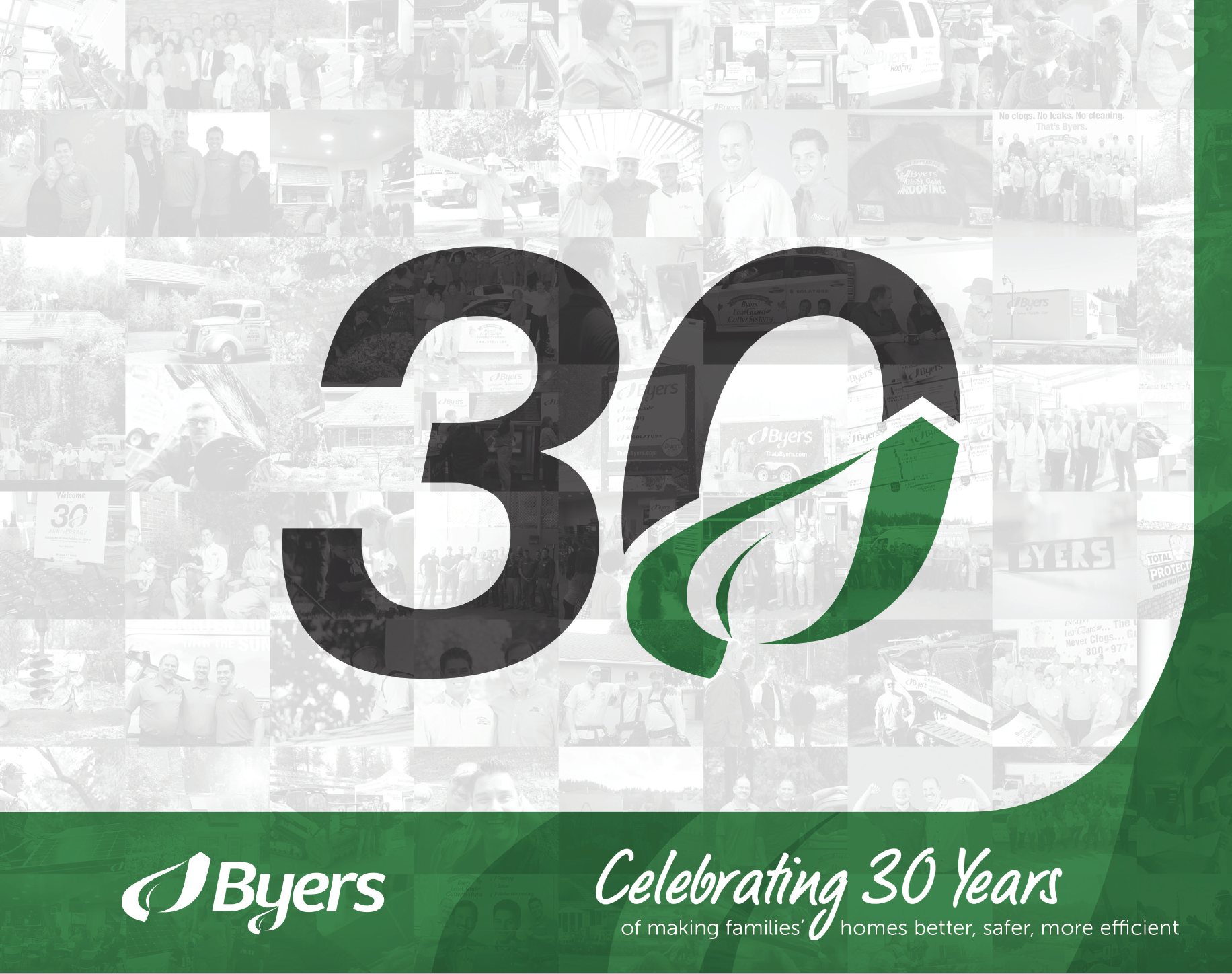 Byers 30th Anniversary Booklet Thumbler Digital Marketing Strategy